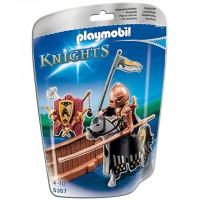 5357 Playmobil Cavalerul Calul Salbatic