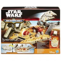 B3533 Star Wars The Force Awakens Micro Machines Millennium Falcon Playset