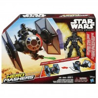 B3703 Star Wars Hero Mashers Episode VII TIE Fighter and TIE Fighter Pilot