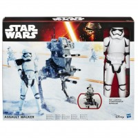B3919 Figurina Hasbro Star Wars The Force Awakens Riot Control Stormtrooper Sergeant Assault Walker