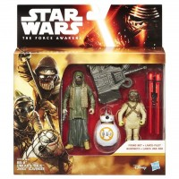 B3956 Figurine Hasbro Star Wars The Force Awakens BB-8 Unkars Thug Jakku Scavenger