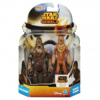 MS07 Figurine Star Wars Mission Series - Wullffwarro and Wookiee Warrior