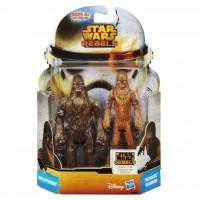 MS07 Figurine Star Wars Mission Series - Wullffwarro and Wookiee Warrior
