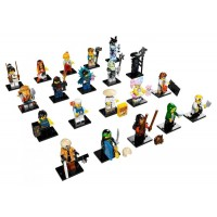 71019 Setul complet de Minifigurine The LEGO Ninjago Movie