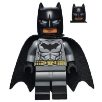 Batman - Dark Bluish Gray Suit