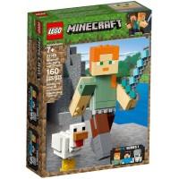 21149 Minecraft Alex BigFig with Chicken