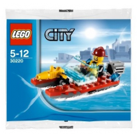 30220 Fire Speedboat polybag