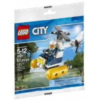 30311 Swamp Police Helicopter Polybag