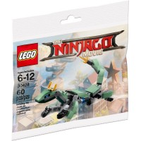30428 Green Ninja Mech Dragon polybag